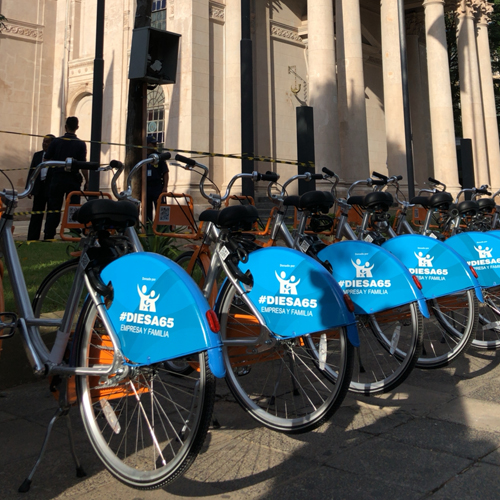 BLOOM sharing software used for municipal bike sharing applications.