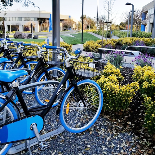 BLOOM sharing software used for corporate campus bike sharing and scooter sharing applications.